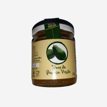 Doce de Papaia Verde